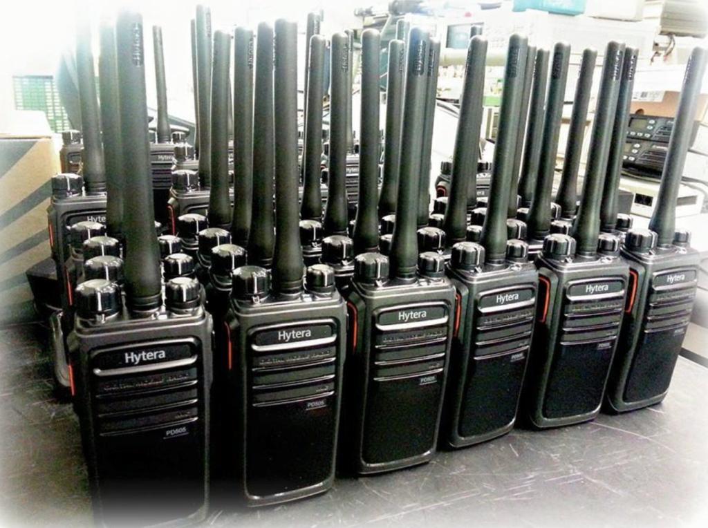 Hytera radios for hire